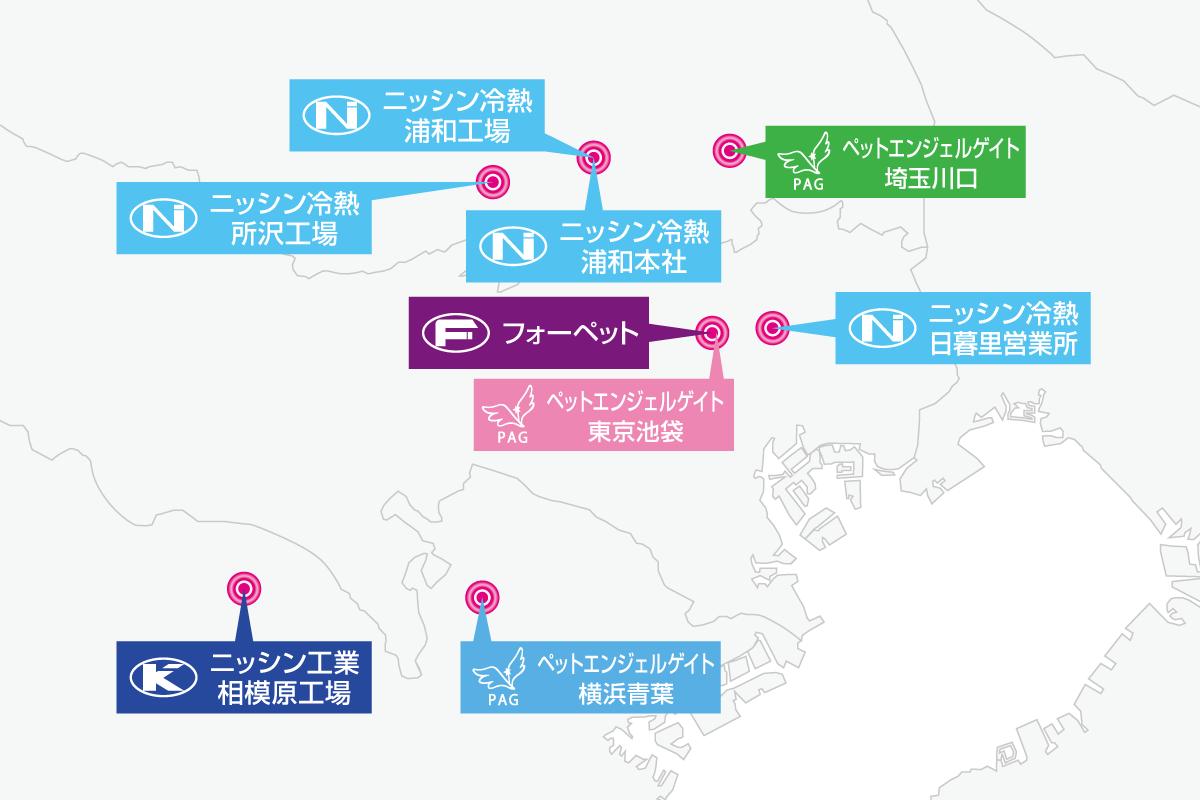 NSグループ地図