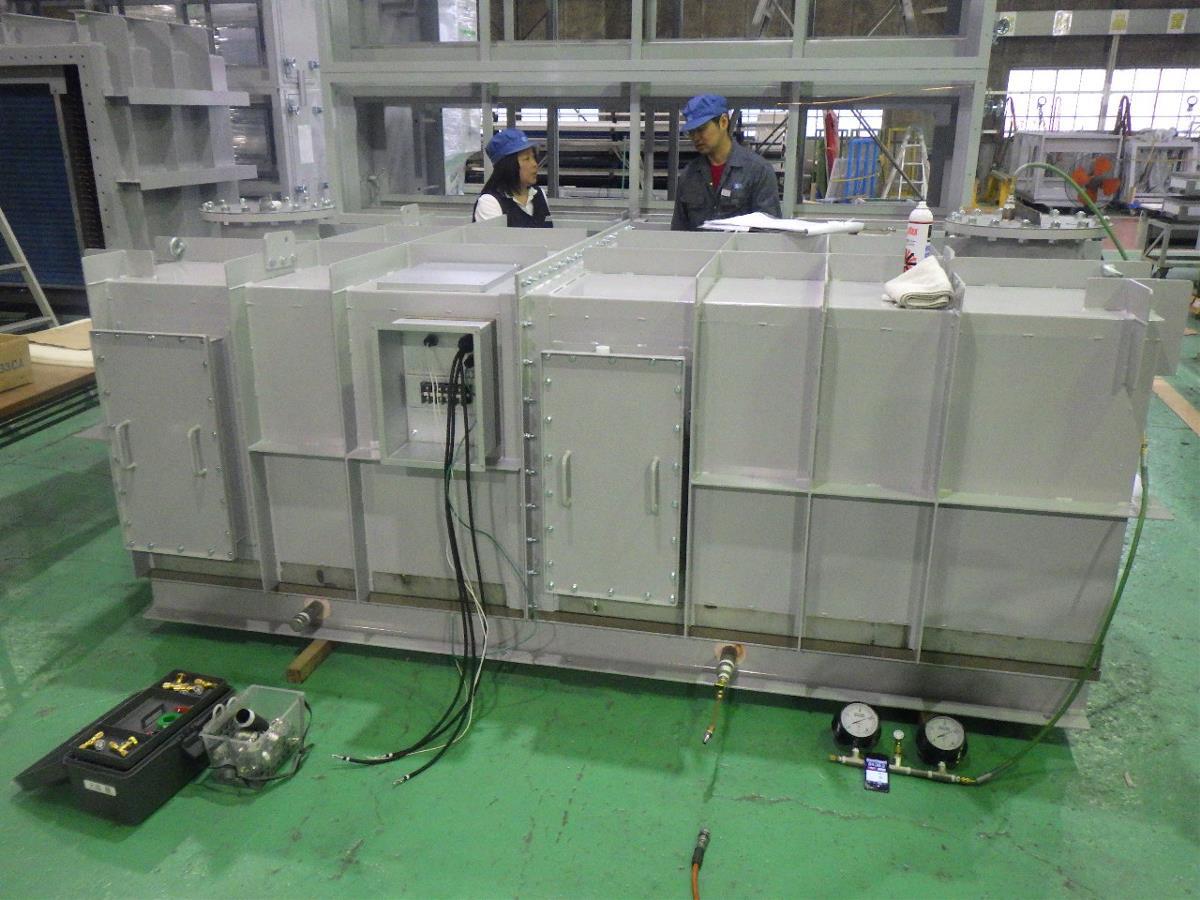 耐圧空調機