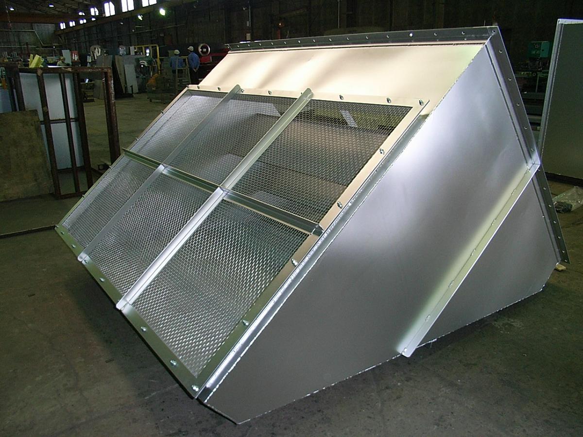 建築設備用外気取入口
